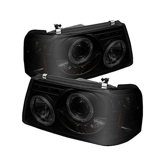 Spyder Auto PRO-YD-FR01-1PC-HL-BSM Ford Ranger LED Halo Projector ()