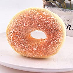 Donuts Food Pretend Play Kitchen Toys Squishy Bagels Bread Fake Collection Toy K0128