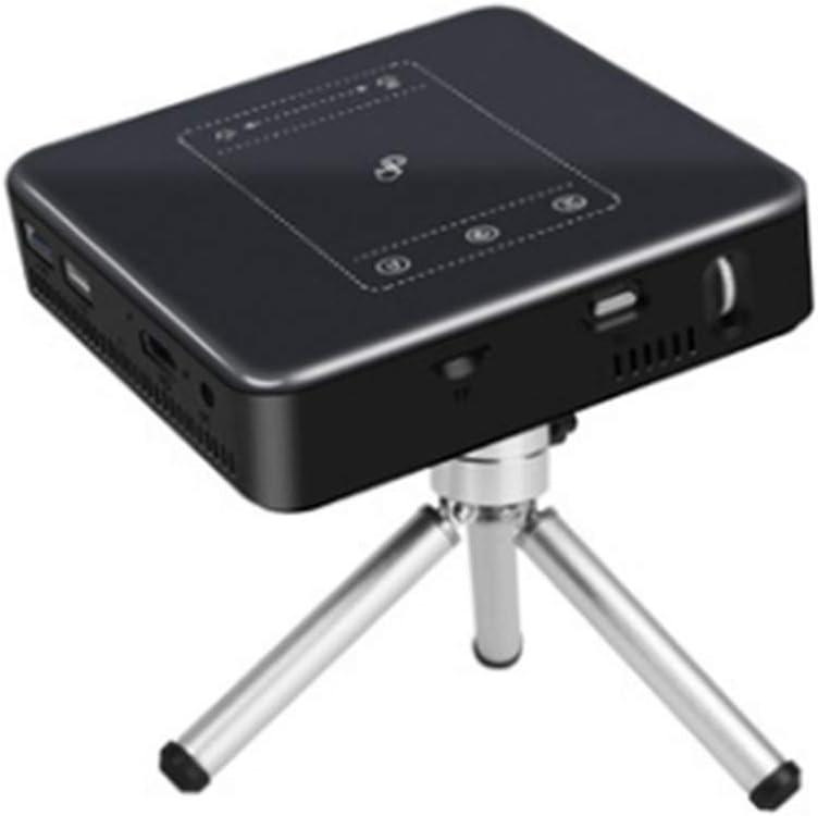 Full HD プロジェクター、HD DLP Androidタッチスマートで便利なプロジェクターミニ携帯プロジェクタープロジェクター(Bluetooth 4.0 / wifi/USB/TFカード) インテリジェント
