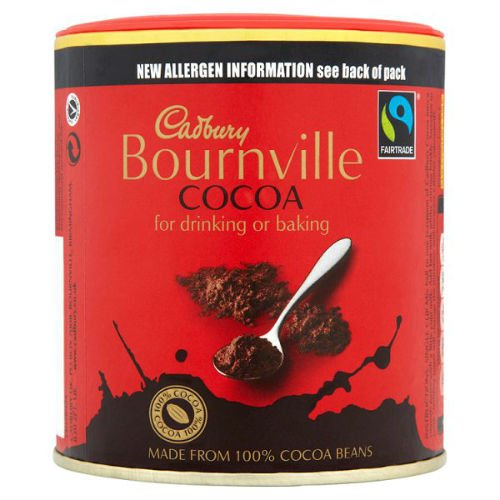 Cadbury Fairtrade Bournville Cocoa Hot Drinks 125G Case Of 12 by Cadbury