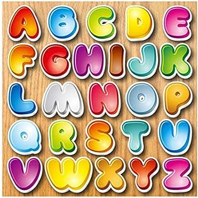 LeYoYo Alfabeto imán de Nevera para niños de Dibujos Animados 3D ...