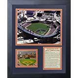 """Legends Never Die""""Detroit Tigers Comerica Park"""" Framed Photo Collage, 11 x 14-Inch"""