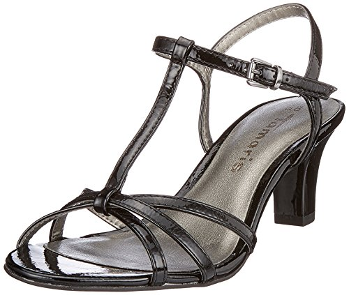 Donna Chiusura Patent Tamaris Nero T Sandali 28329 Black a con tzzvY1qB