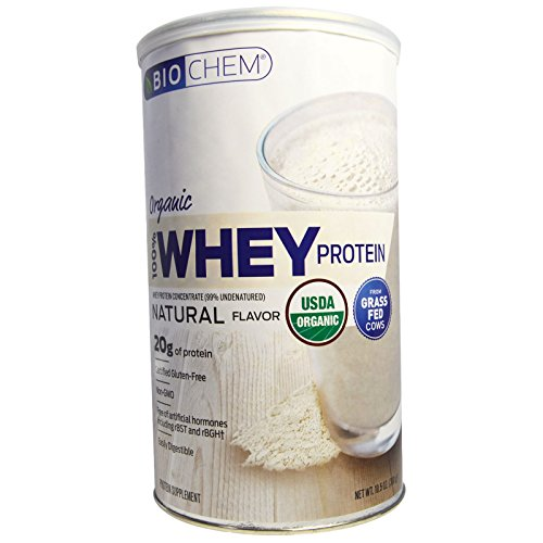 Country Life, Organic, 100% Whey Protein, Natural Flavor, 10.5 oz (300 g) - 3PC by Bio Chem
