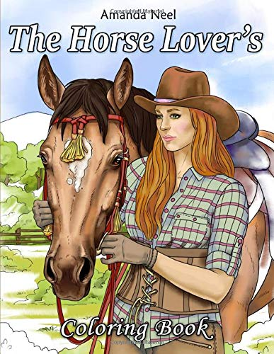 Horse Lovers Coloring Book product image