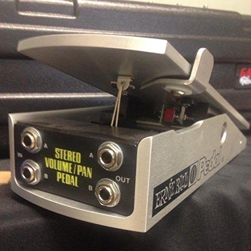 Ernie Ball Stereo Volume Pan Pedal Aluminum