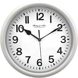 Mainstays 8.75 Basic Clock, silver
