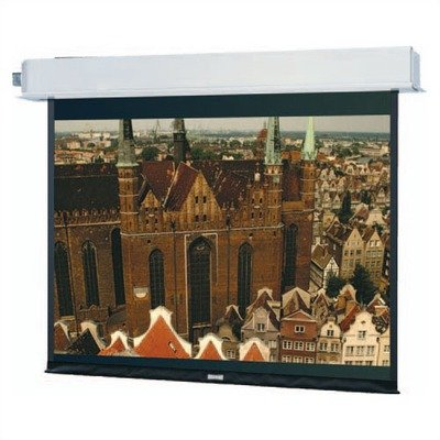 84301L Advantage Electrol Motorized Front Projection Screen - 87 x 116
