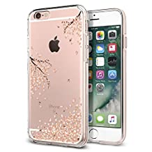 iPhone 6S Case, iPhone 6 Case, Spigen Liquid Crystal - Slim Protection Soft Clear Case for Apple iPhone 6S / iPhone 6 - Blossom Crystal Clear