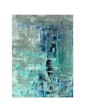 Deinebilder24 Wand Bilder Groß Deko   80 X 60 Cm   Blau Und Grau