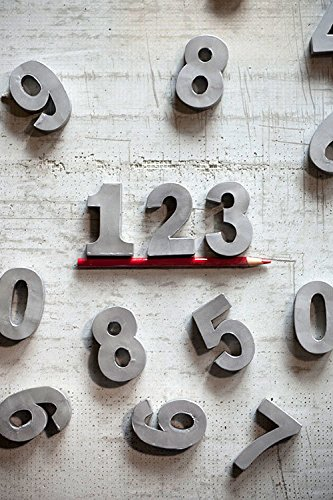 Vagabond Vintage  Individually Selected 2 Inch Numbers   4