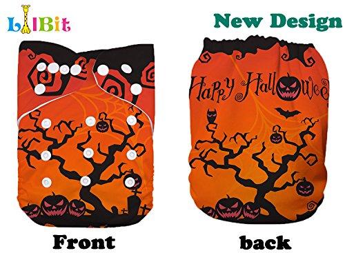 Lilbit New Halloween Print Cloth Baby Diaper (HA02)