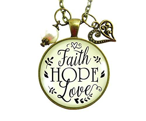 Faith Ring Necklace (24