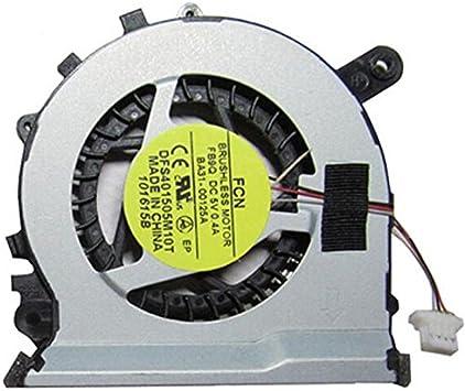 Ventilador de CPU Cooler de repuesto para Samsung NP530U3 C