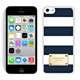 iPhone 5C Michael Kors 80 White Phone Case Custom and Durable Cover