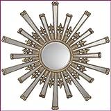 Paragon 8761 Retro Starburst Contemporary Wall Mirror