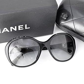 79327a2d87ec Amazon | CHANEL(シャネル) フェイクパール付 サングラス 5211 ブラック ...