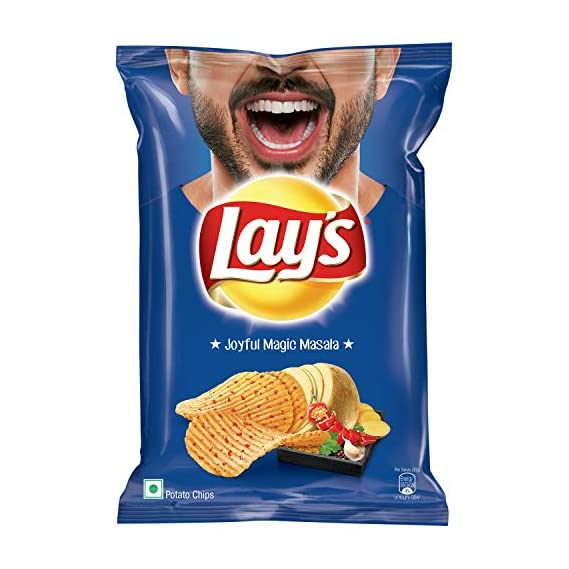 Lay's Potato Chips - India's  Magic Masala (Party Pack) - 177 gm  Pack