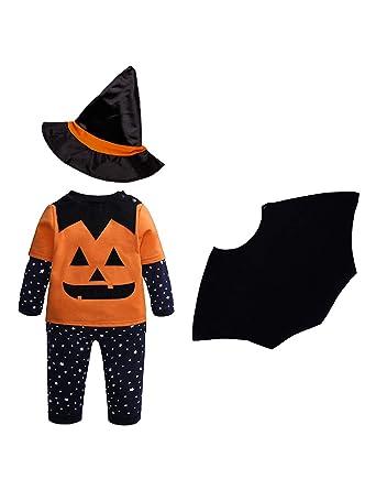 Disfraz Halloween Bebe, Halloween Bebe Calabaza Manga Larga y ...