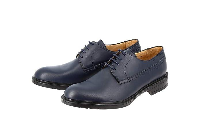 9ec75d777f7 belym Derby Homme en Cuir Bleu Marine 2726  Amazon.fr  Chaussures et Sacs