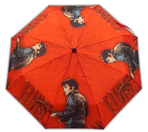 Elvis Presley Foldable Umbrella 68' Name In -