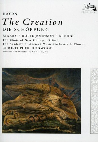 Joseph Haydn - The Creation / Kirkby, Rolfe Johnson, George, AAM, Hogwood