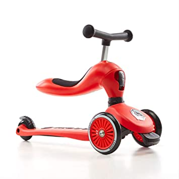 25f8f886429 2-In-1 Kick Scooter With Removable Seat Great For Kids,3 Wheel ...