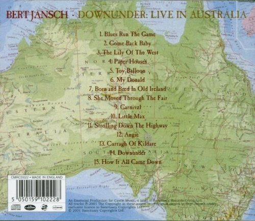 Downunder Live in by Sanctuary UK