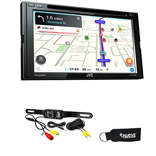 JVC KW-V840BT Android Auto/Apple CarPlay CD/DVD with back up camera