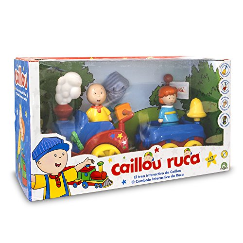 Caillou – Tren con Funciones (Giochi Preziosi CAL05000)