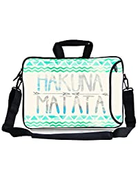 "Hakuna Matata Neoprene Laptop Shoulder HandBag,TsuiWah(TM)16"" /17""/17.3""Inch Laptop Notebook Computer Shoulder Bag"