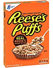 Reese's, Breakfast Cereal, Peanut Butter Puffs, 11.5 Ounce
