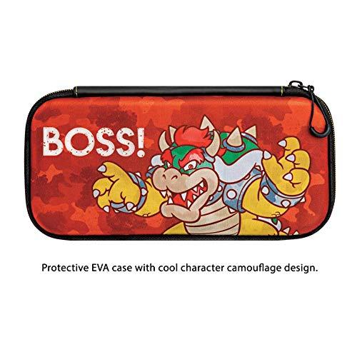 Amazon com: Nintendo Switch Camo Super Mario Bros Bowser Slim Travel