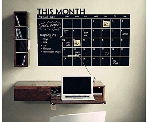 ArtKisser Chalkboard Calendar Refrigerator Erasable product image