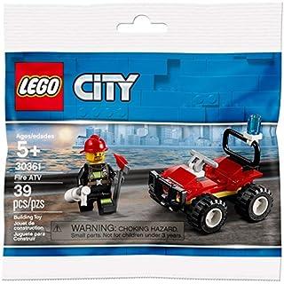 CITY Lego Set 30361 Fire ATV 39 Pieces Polybag