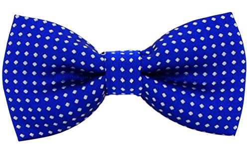 Bak Bak Polka Dots Handmade Breakaway Adjustable Bow tie For Small and Medium for Cat / Dogs / Rabbits ( Recommended by American pet safety Association) (G1)