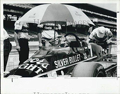 Jr Indy Car (1984 Press Photo Al Unser Jr Indy Car Driver)