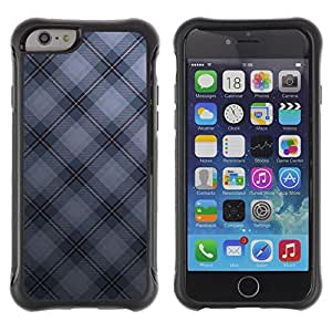 SHIMIN CAO@ Texture Checkered Rugged Hybrid Armor Slim Protection Case Cover Shell For iPhone 6 Plus CASE Cover ,iphone 6 5.5 case,iPhone 6 Plus cover ,Cases for iPhone 6 Plus 5.5