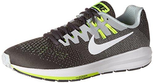 Nike Men's Air Zoom Structure 20 Dark Grey/White Pure Platinum Running Shoe 11 Men US 849576
