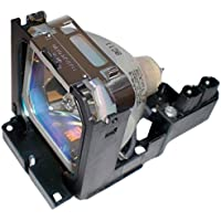 Electrified POA-LMP69 610-309-7589 Replacement Lamp with Housing for Sanyo Projectors