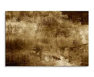 100X 70Cm De Sepia abstracto acrílico con pincel IV