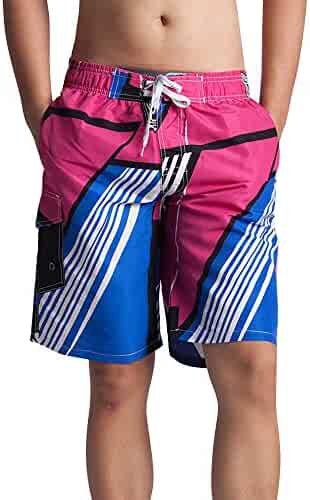 816a71cce777c OLUOLIN Men's Summer Swim Trunks Casual Quick Dry Holiday Party Beach Pants