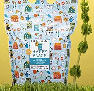 product image for Beekman 1802 Happy Place 120-Load Goat Milk Natural Laundry Soap Resealable Bag - Unscented
