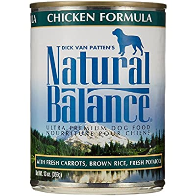Natural Balance Pet Food Canned Dog Food Chicken -- 13 oz