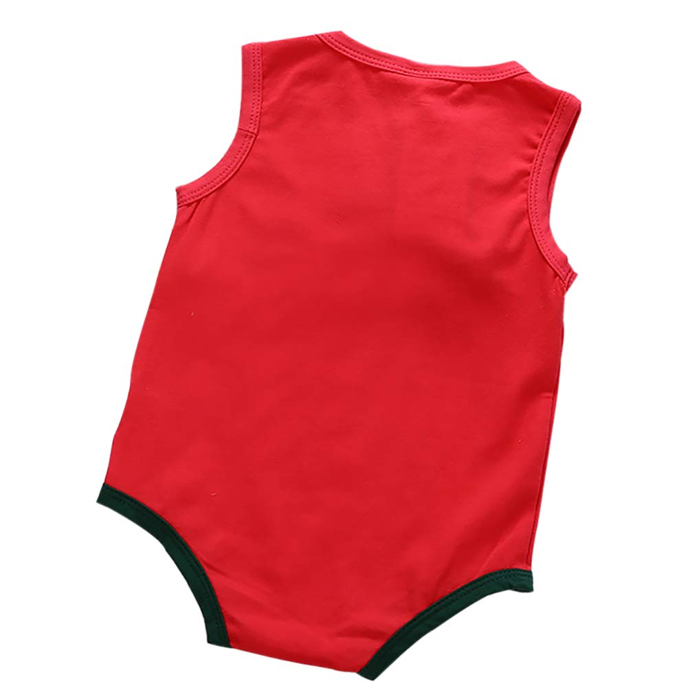ESHOO Baby Girl Sleeveless Romper Cotton Chinese Style Bodysuit Playsuit Outfits