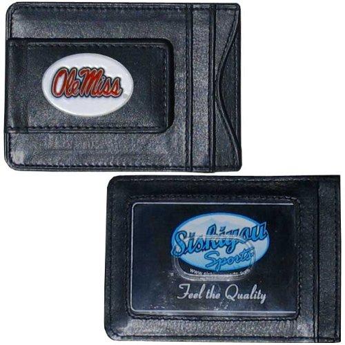 Siskiyou NCAA Oklahoma State Cowboys Leather Cash and Card Holder