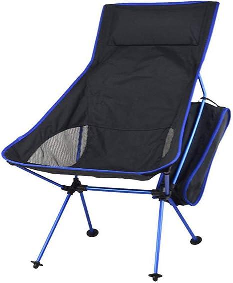 Calidad Silla de camping con almohada de esponja, silla de ...