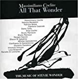 All That Wonder ( Music of Stevie Wonder)