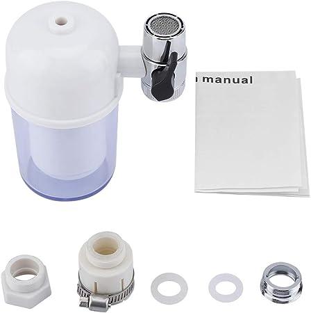 Purificador de grifo de agua Filtro de grifo 8 Etapa Eliminar la sustancia nociva Recubrimiento de cromo de larga ...