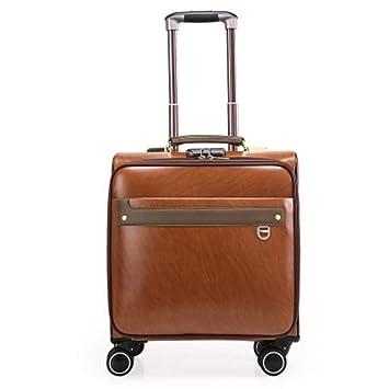 Flight Case Maleta con 4 Ruedas, Maleta de Viaje Equipaje de Mano en la Cabina